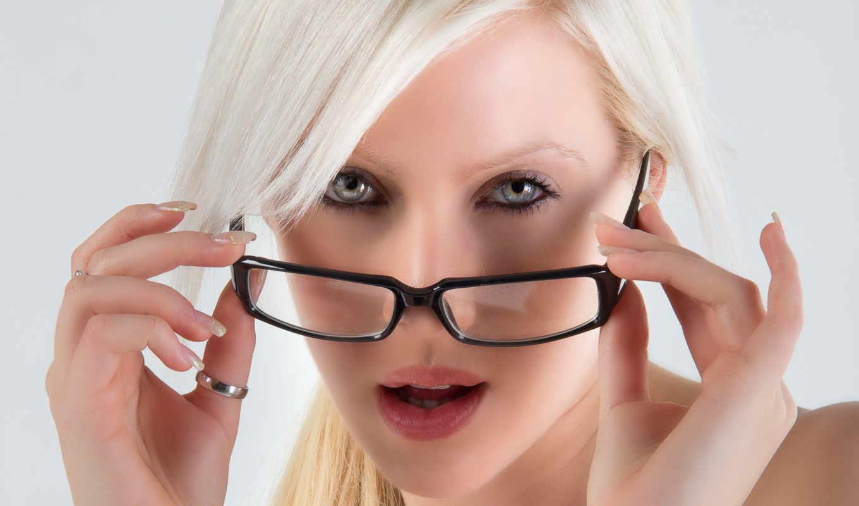 blondynka, okulary, девушка, очки, znajdziesz,