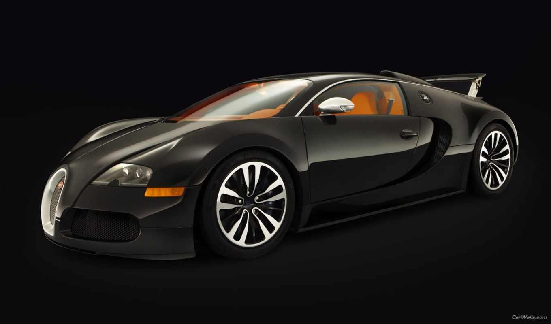 bugatti, veyron, sang, noir, суперкар,