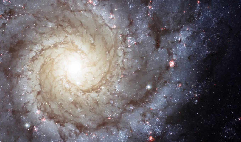 галактика, спиральная, звезды, газ, картинка, картинку, hintergrundbilder, hubble,