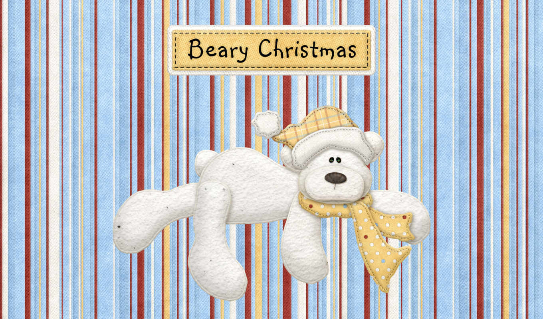 медведь, рисунок, открытка, полосы,