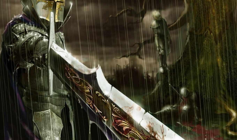 warrior, knight,