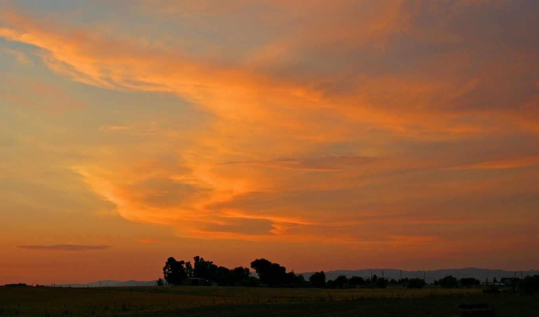 небо, оранжевый, ratio, кб, admin, фото,