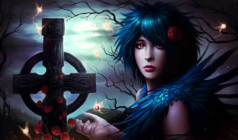 gothic, gothique, fonds, fond, more, ecran, dark,