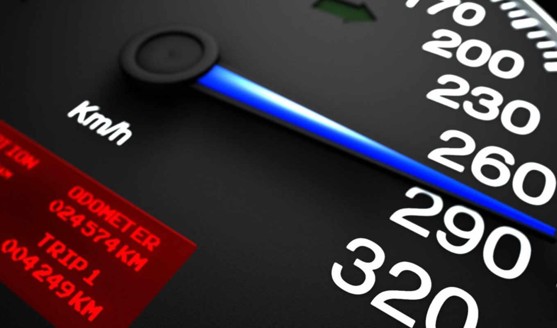 , speedometer,
