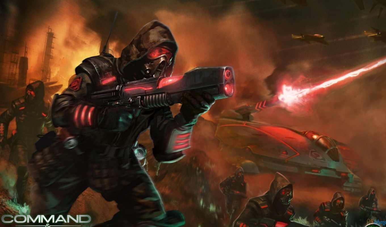 alliances, tiberium, command, conquer, ea, phenomic, games, rts,