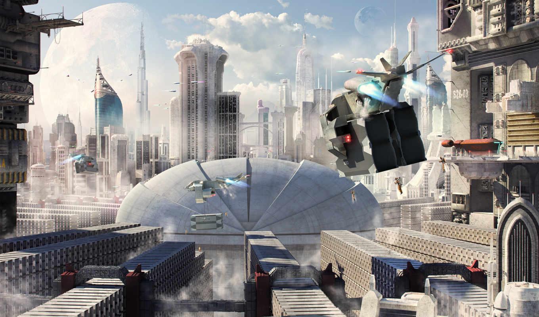 rem, город, будущее, игр, грузовой, фэнтези, техника, кони, пользователей,