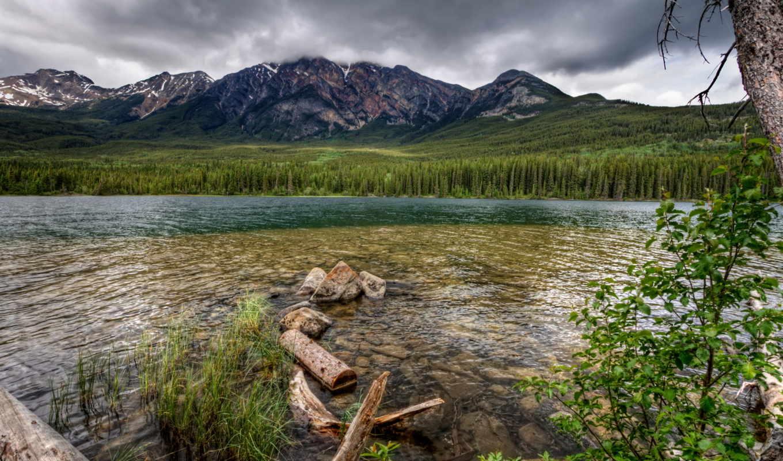 река, горы, природа, xperia,