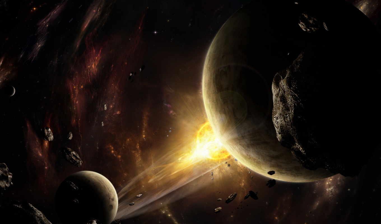 космос, планеты, астероиды, planet,