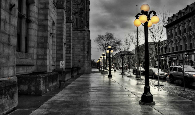 улица, лампа, ночь, фонари, свет, огни,