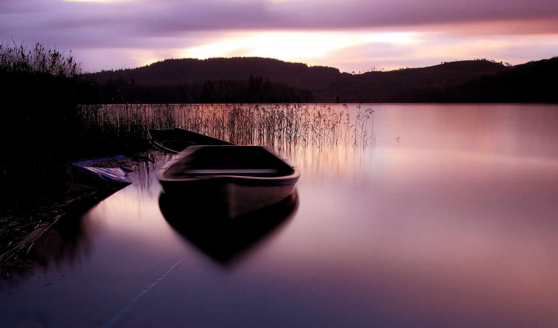 лодка, подборка, красивых, девушек, ozero, сиреневый, категория, совершенно,