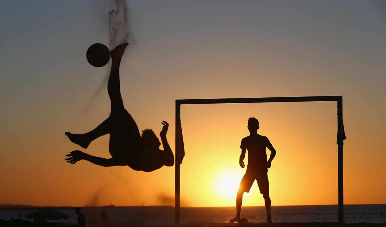 футбол, мужчины, закат, pictures, спорт, сила, мужественность,