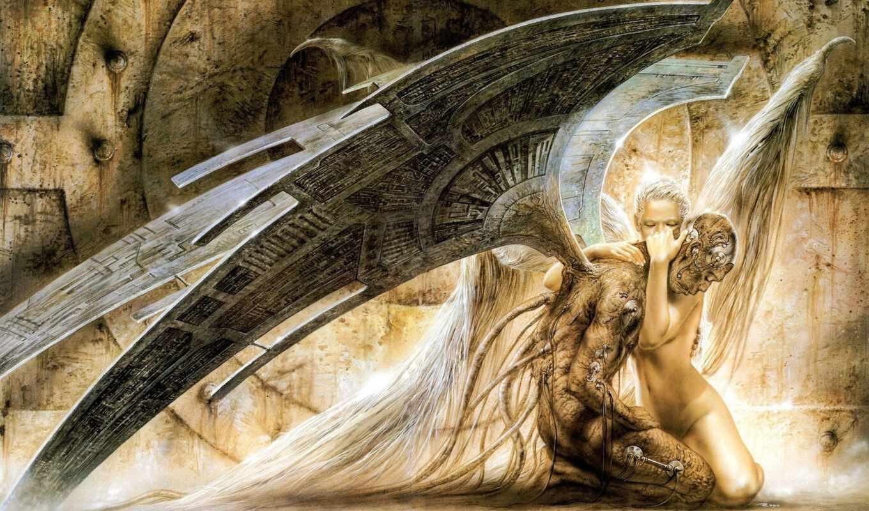 обои, angel, ангела, два, ангел, фэнтези, девушка,