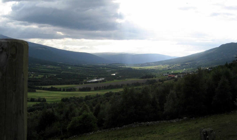 облака, горы, долина, фон, gallery, природа, desktop,