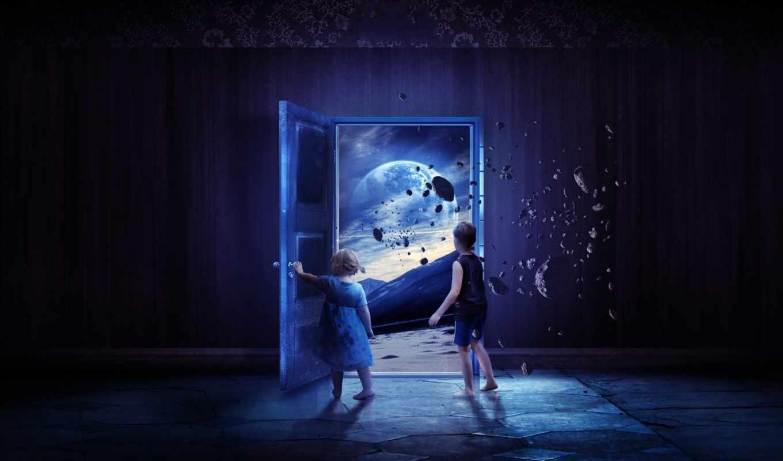 fantasía, los, fondos, ilustraciones, pantalla, mundo, otros, mundos, para,