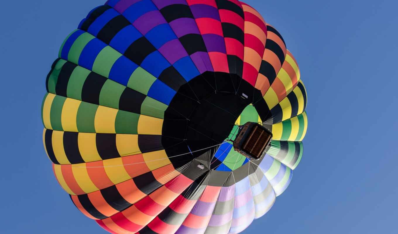 weed, мяч, air, небо, balloon, полет, корзина, aerostat