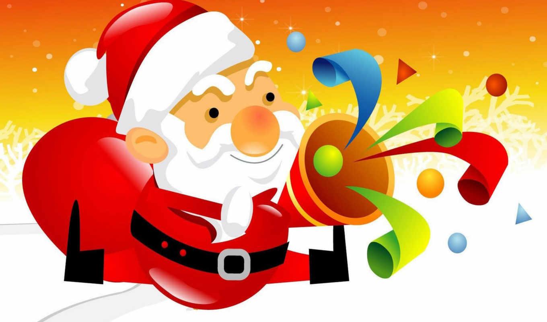 noel, christmas, papai, santa, père, desktop,