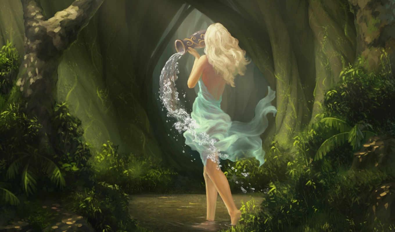 лес, fantasy, фея, девушка, girls, art, pack,