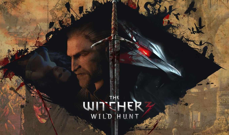 ведьмак, wild, hunt, игры, воители,