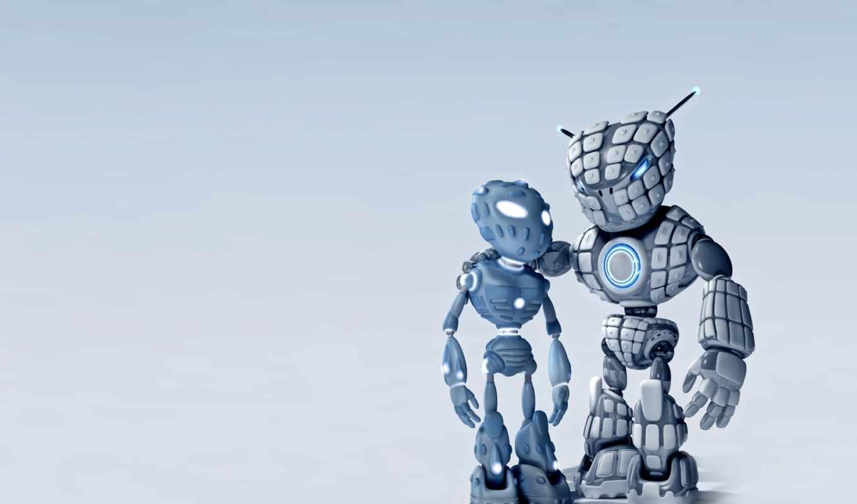 robots, amigos, live, friends, мобильного, робот,
