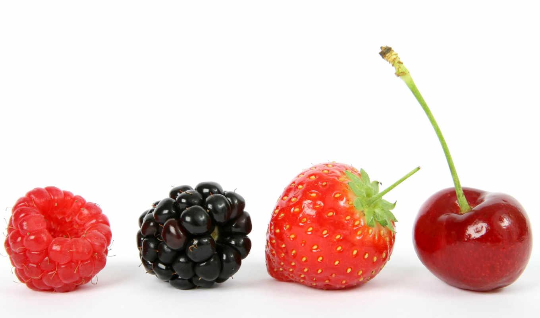 white, клубника, ягоды, млечный, малина, blackberry, cherry, орехами,