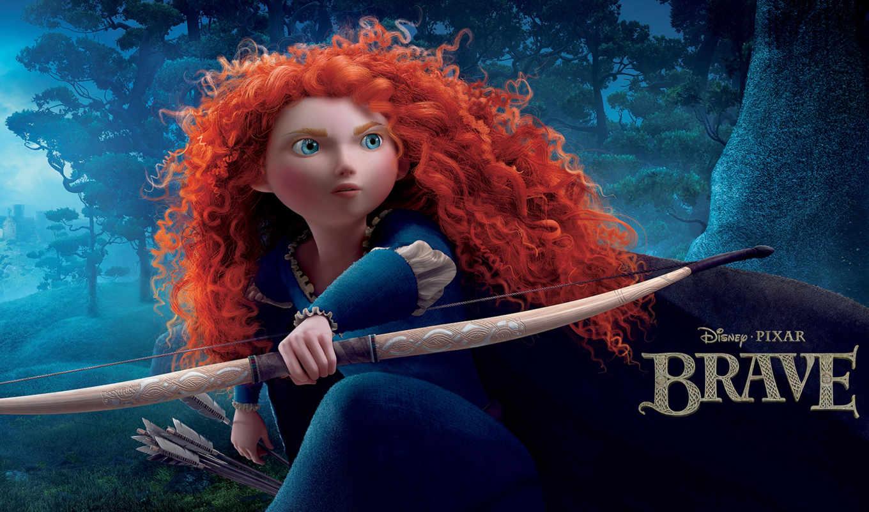 merida, brave, принцесса, disney, pixar, wig, see,