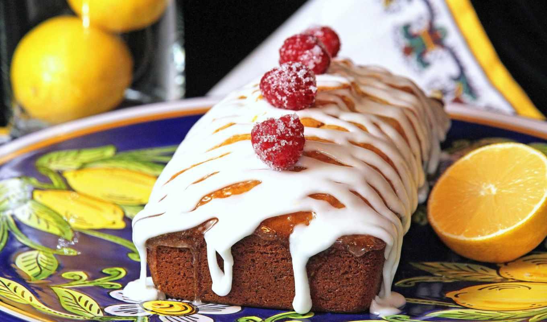 tart, лимон, торт, frosting, сладкое,