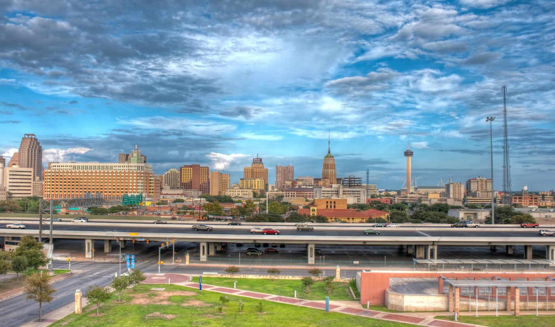 san, antonio, texas, город,