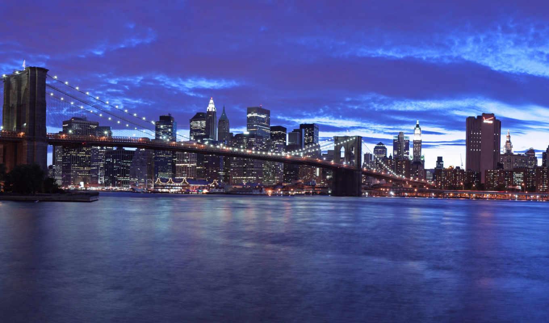 фотообои, город, скинали, article, ночь, города, мост, ночного, огни, купить,