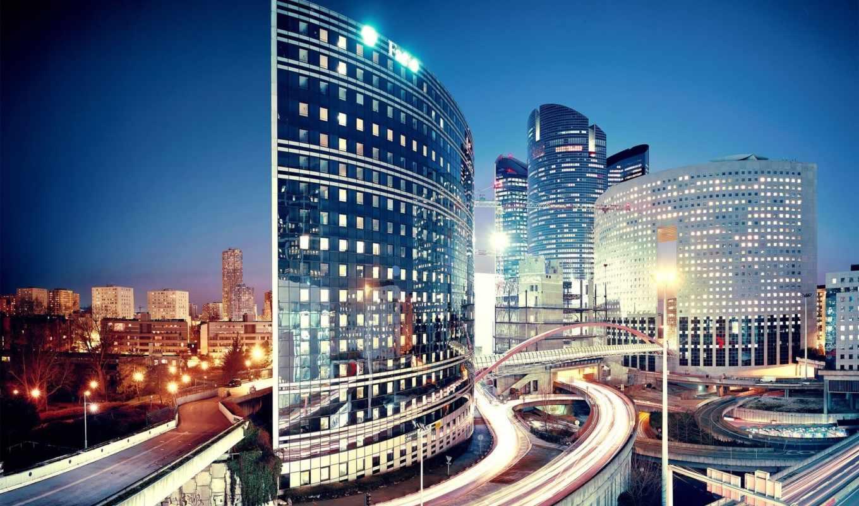 пейзажи, городские, мегаполисов, города, мира,