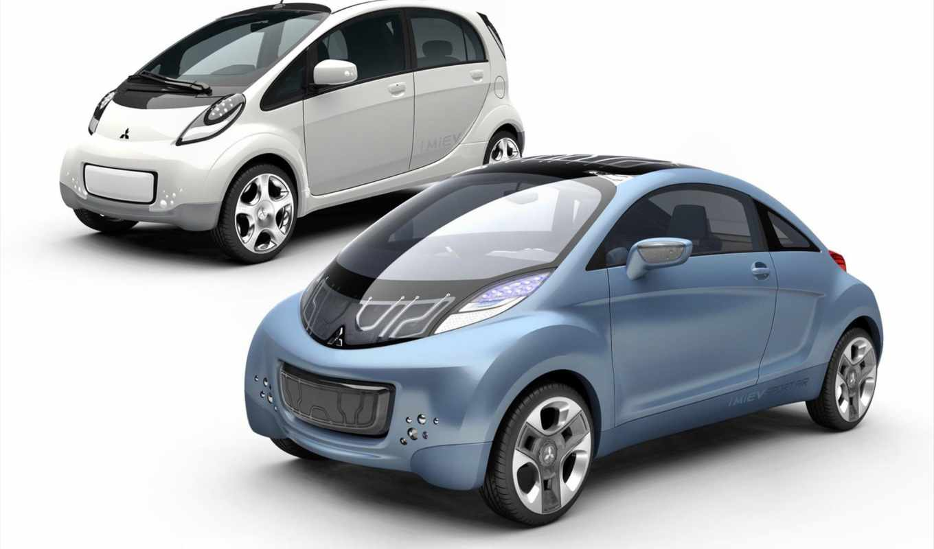 mitsubishi, miev, sport, air, concept, car, imiev, picture,