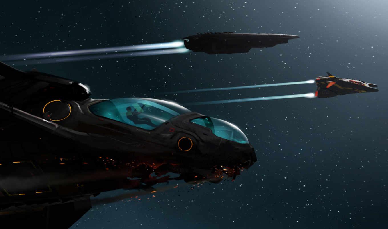 корабли, космические, боевые, будущего, cosmos, art,