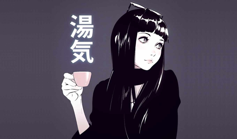 девушка, anim, ilia, кувшин, cup, point, илья, anime, art