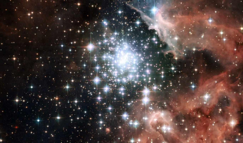 галактика, много, звезды, скопление, der, рождение, млечном, звезд, пути, новых, star, you, ngc,