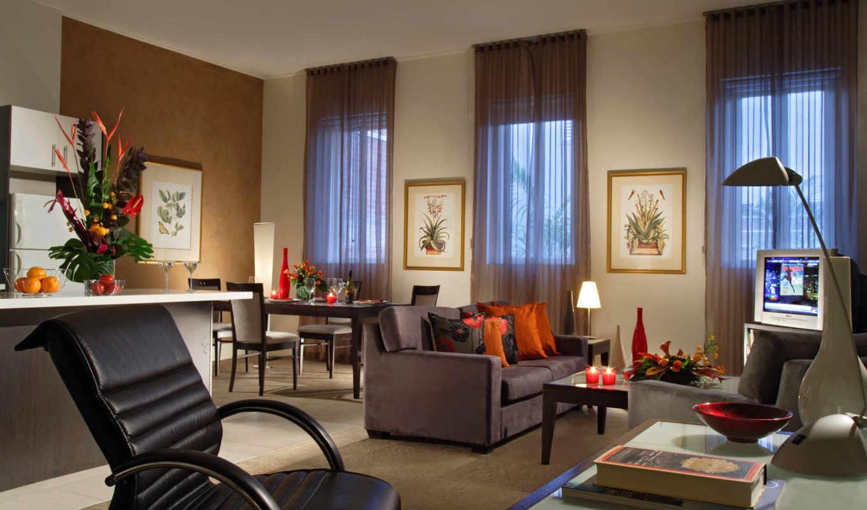 гостиная, interer, dizain, комната, уютная, гостиной,