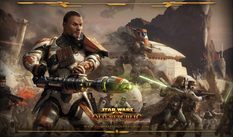 star, wars, republic, swtor, trooper, республики, армия,