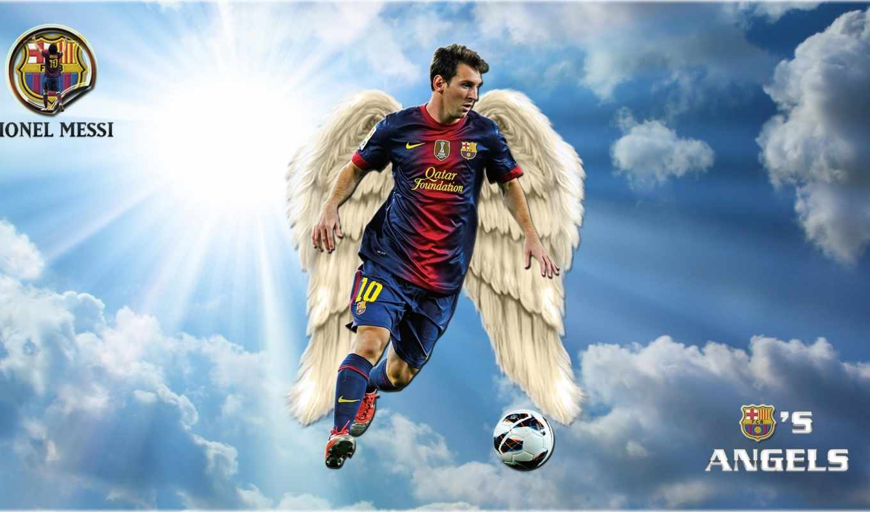 ,messi, ангел, футбол