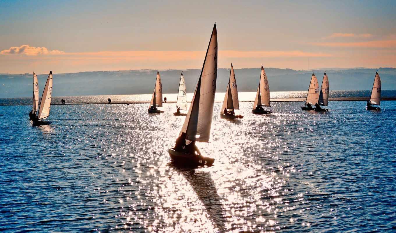 море, парусники, спорт, парусник, shine,