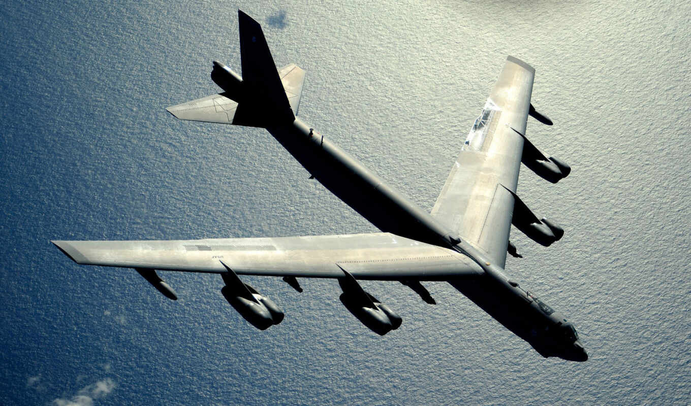 stratofortress, boeing, fortress, море, b-52,