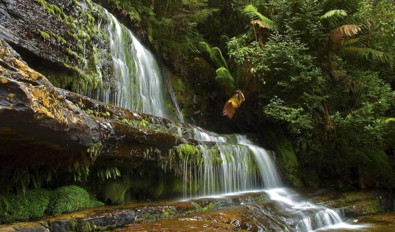 водопад,