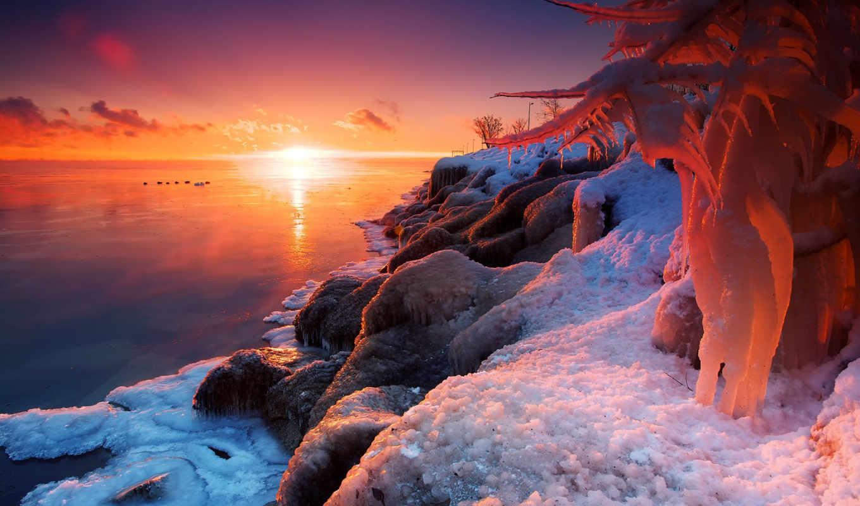 ozero, прикольные, част, frozen, priroda, красивые, озеро, янв, zima, штуки,