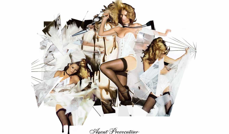 агент, provocateur, кейт, мох, реклама, lingerie, белья, модель, are,