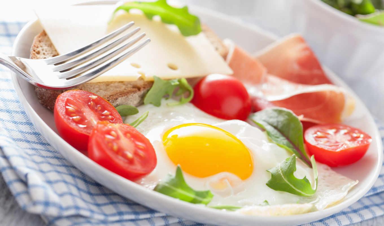 смотреть, обою, еда, истинном, размере, бутерброды, помидоры,