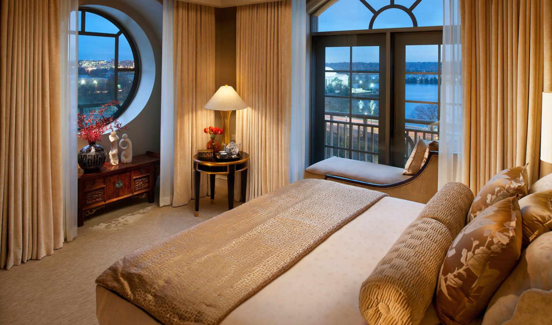 спальня, интерьер, браун, стиль, design, комната, ремонт,