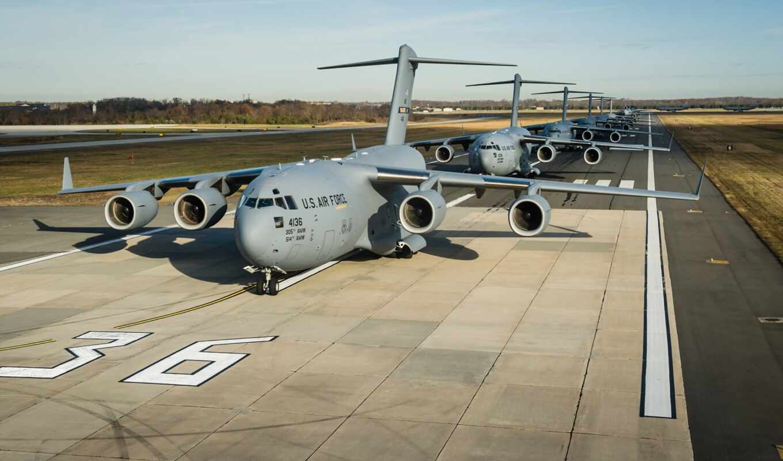 globemaster, boe, аэродром, самолёт, прогулка, слон, крыло, air, plane