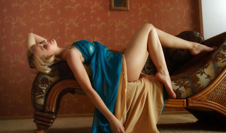 wonderful, диван, девушка, платье,ножки,