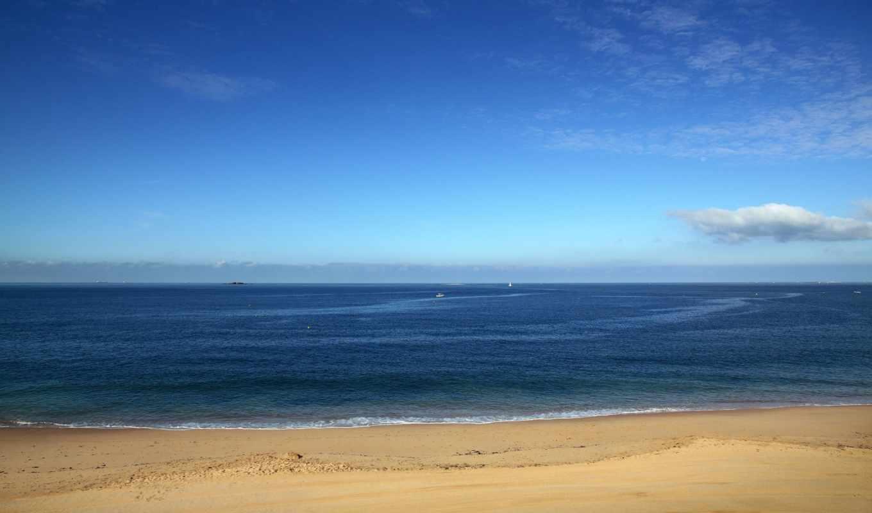 море, побережье, пляж, моря, берег, день, найти,