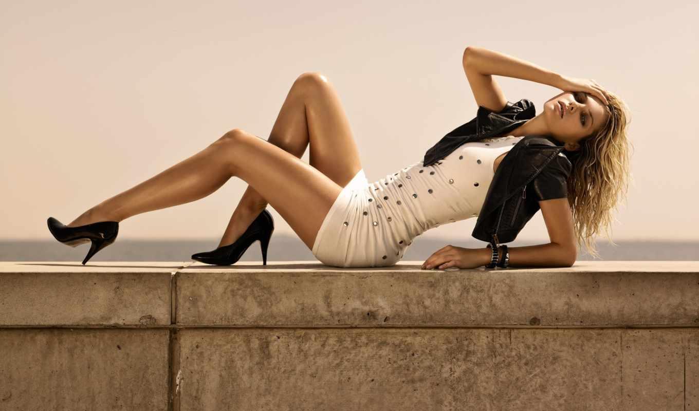 девушка, платье, ножки, devushki,