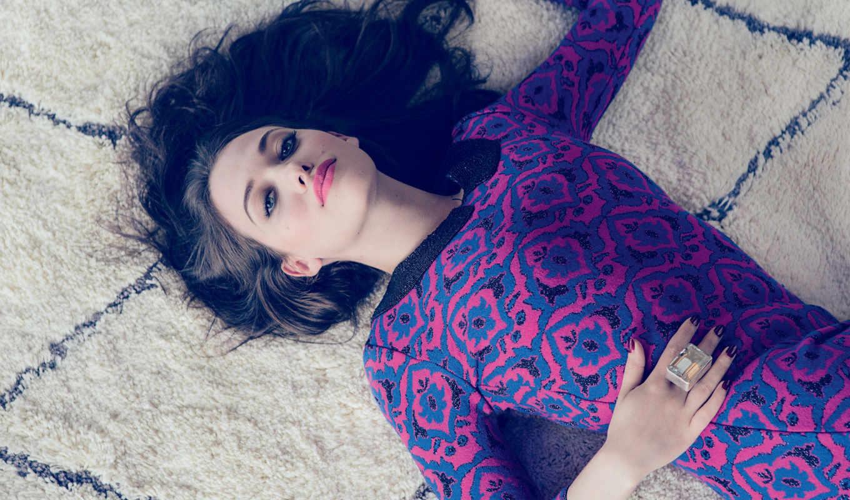 кат, dennings, кейт, актриса, лежит, ковре, красивом, платье, photos, photoshoot,