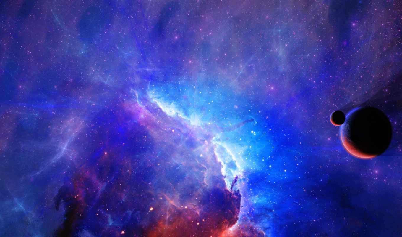 планета, спутники, туманность, звезды, космос, facebook,