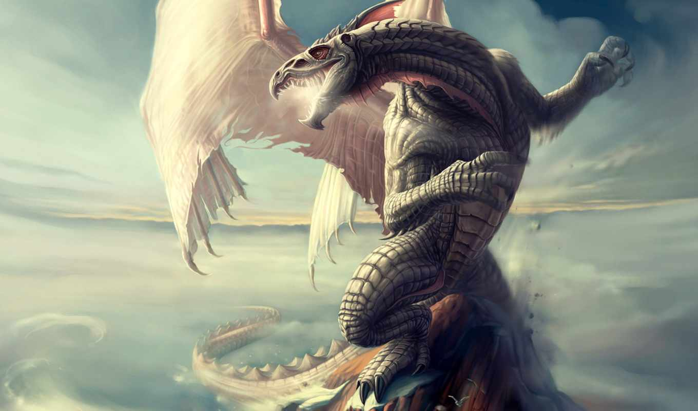 фантастика, дракон, крылья, регистрации,